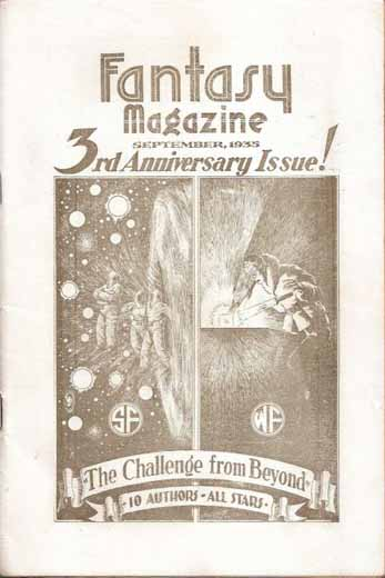 Fantasy Magazine Volume 5 Number 4 (Whole Number 34)