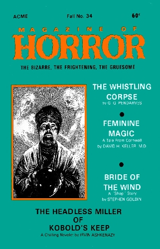 Magazine of Horror #34