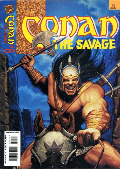 Conan the Savage Volume 1 Number 6