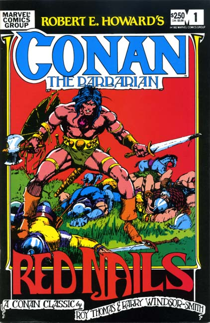 Robert E. Howard's Conan the Barbarian: Red Nails