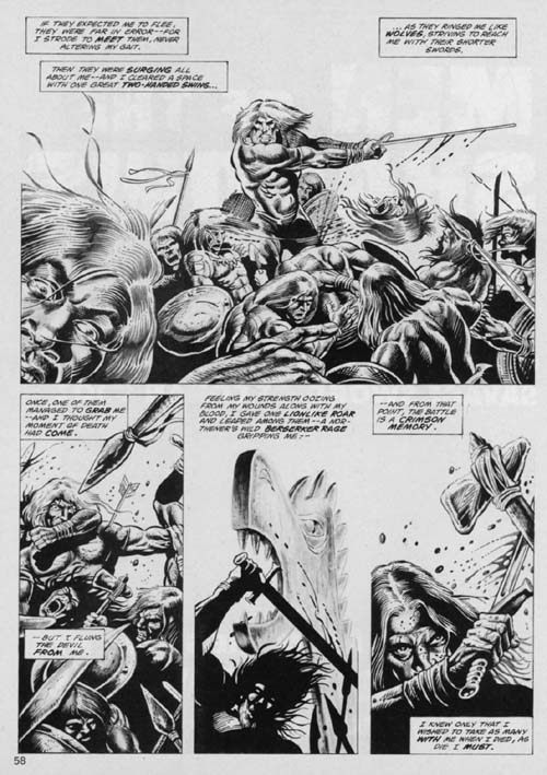 The Savage Sword of Conan Volume 1 Number 103