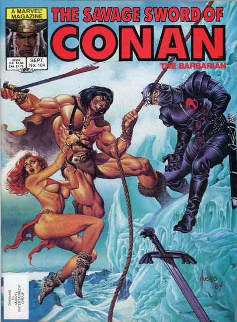 The Savage Sword of Conan Volume 1 Number 104