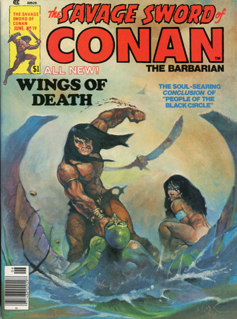 The Savage Sword of Conan Volume 1 Number 19