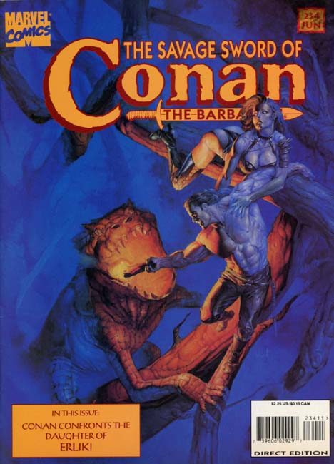 The Savage Sword of Conan Volume 1 Number 234