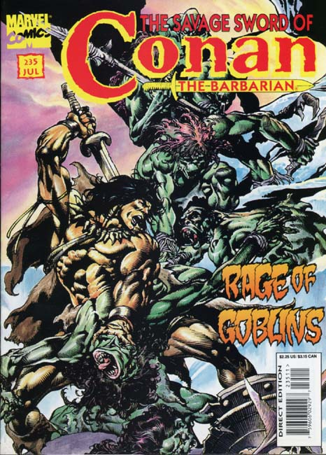 The Savage Sword of Conan Volume 1 Number 235