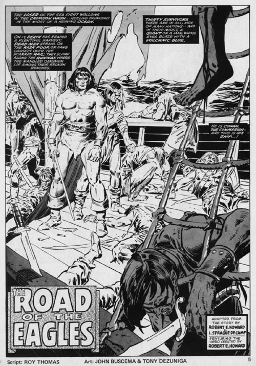 The Savage Sword of Conan Volume 1 Number 38