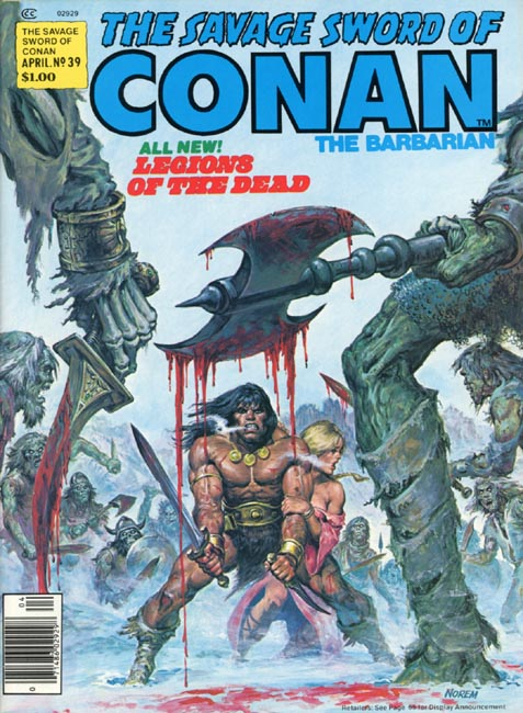 The Savage Sword of Conan Volume 1 Number 39