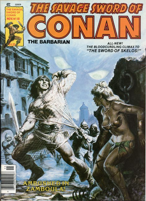 The Savage Sword of Conan Volume 1 Number 58