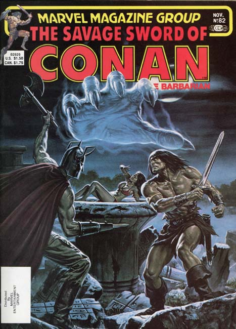 The Savage Sword of Conan Volume 1 Number 82
