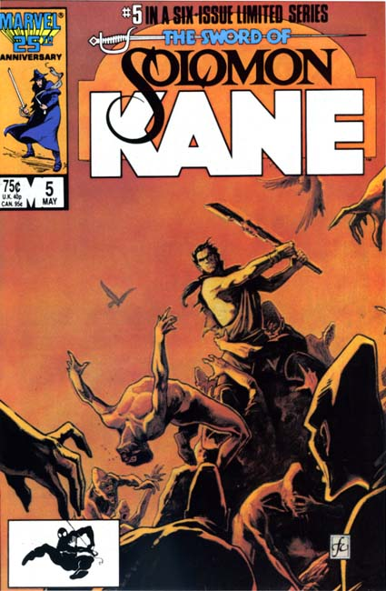 The Sword of Solomon Kane #5