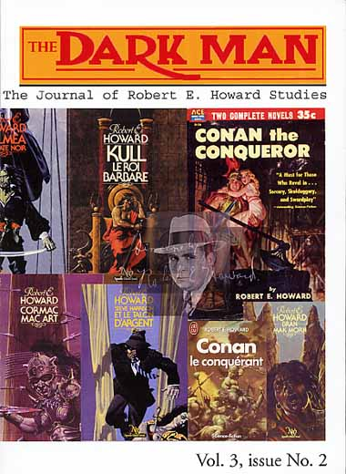 The Dark Man V3N2 (#11): The Journal of Robert E. Howard Studies