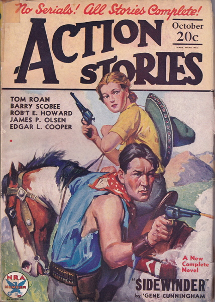 Action Stories Volume 12 Number 10
