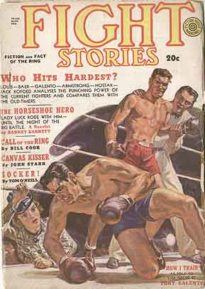 Fight Stories Volume 5 Number 10