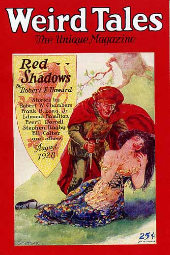 Weird Tales Volume 12 Number 2