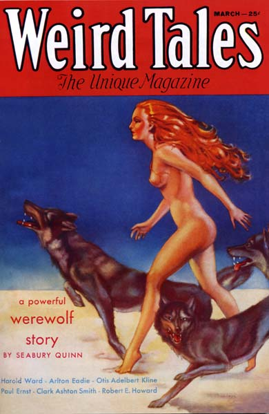 Weird Tales Volume 21 Number 3