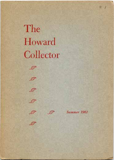 The Howard Collector #1