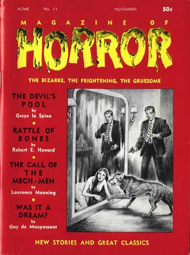 Magazine of Horror #11
