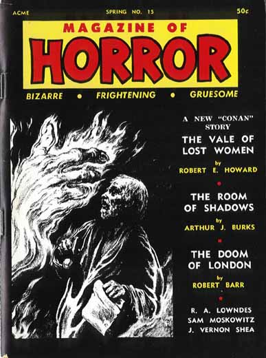 Magazine of Horror #15