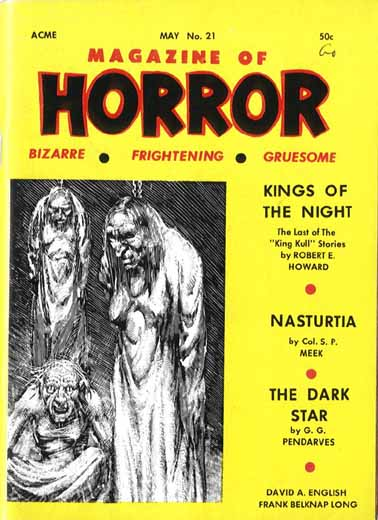 Magazine of Horror #21