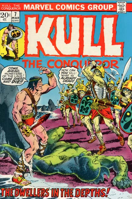 Kull the Conqueror Volume 1 Number 7