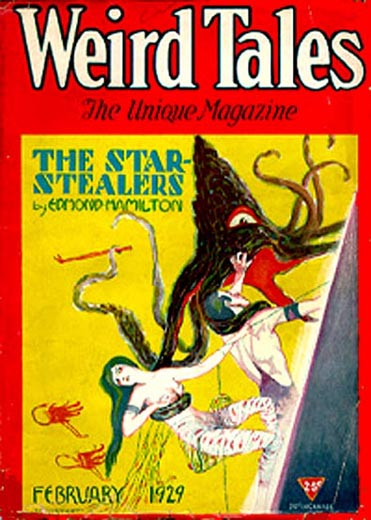 Weird Tales Volume 13 Number 2