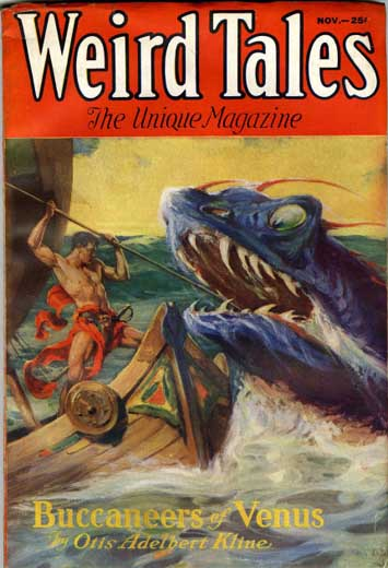 Weird Tales Volume 20 Number 5