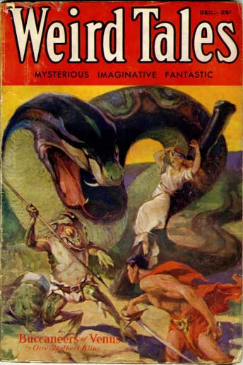 Weird Tales Volume 20 Number 6