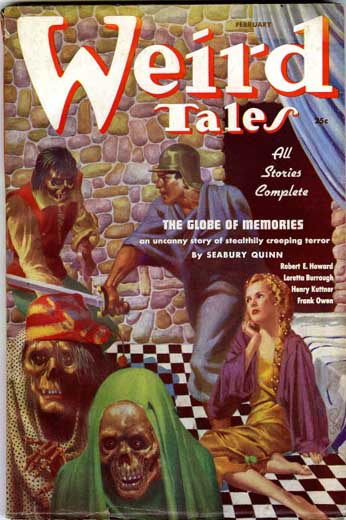 Weird Tales Volume 29 Number 2