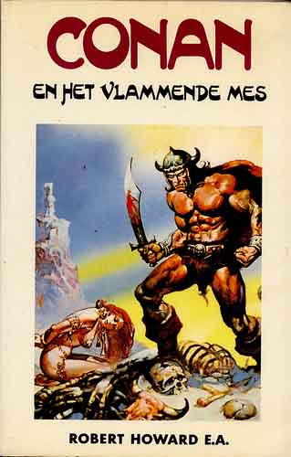 Conan en het vlammende mes (Conan and The Flaming Blade)