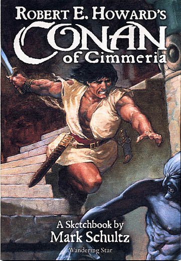Conan of Cimmeria Sketchbook